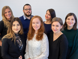 Das Team des Bewerbermanagements der MSH Medical School Hamburg