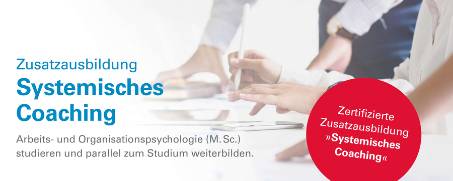 Weiterbildung Systemisches Coaching an der MSH Medical School Hamburg